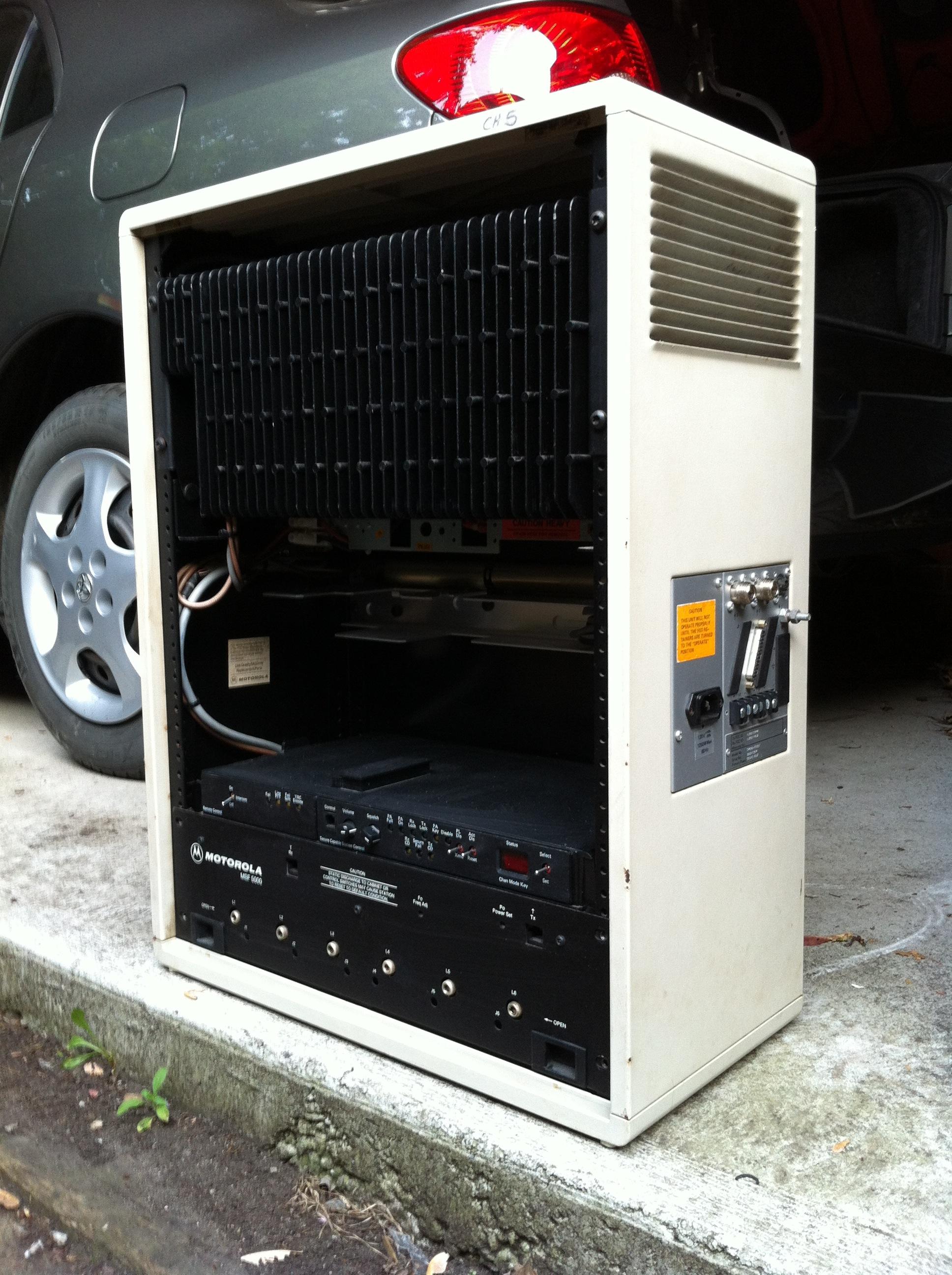 VA3XPR VA3XFT amateur radio repeater MSF5000 Toronto ham IRLP echolink UHF