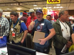 Raffle winners take home new DMR radios from Dayton Hamvention 2014