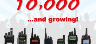 Ham radio DMR celebrates its 10,000th user ID